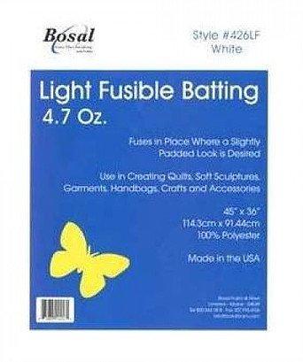 Bosal - Single Side Fusible Batting 45x36