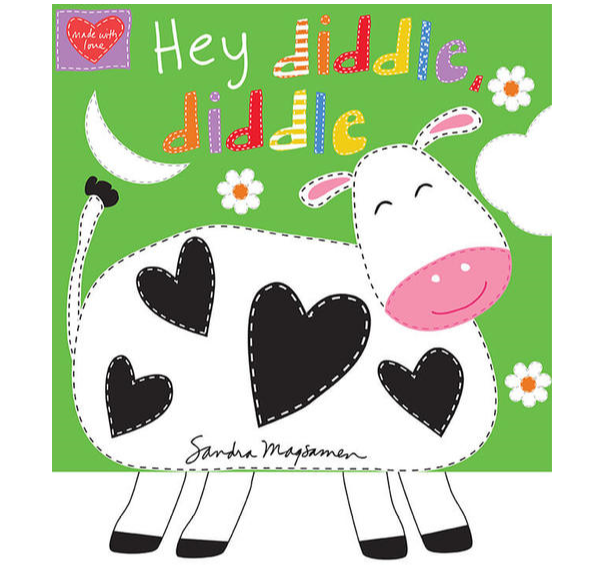 Hey Diddle Diddle Fabric Book xx