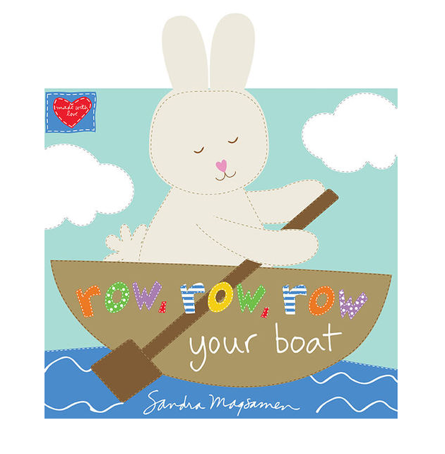 Row Row Row Your Boat Fabric Book  xx