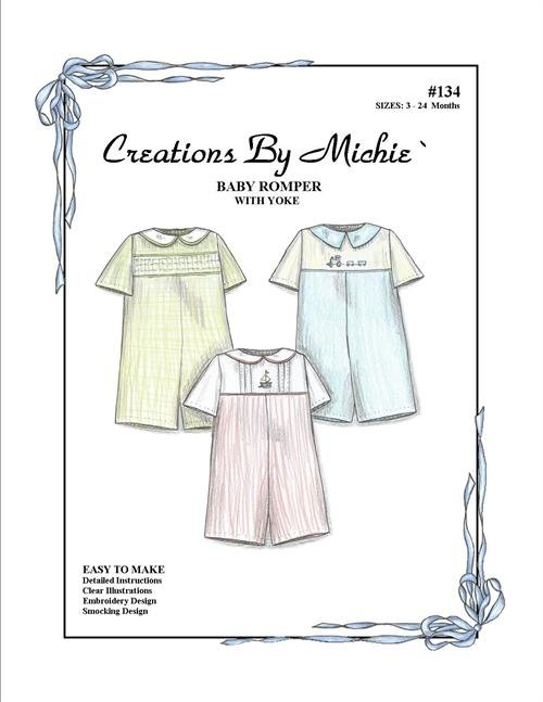 Creations by Michie - #134 Baby Romper
