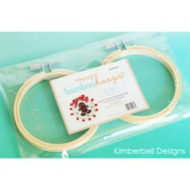 Kimberbell - Bamboo Hoops (set of 2)