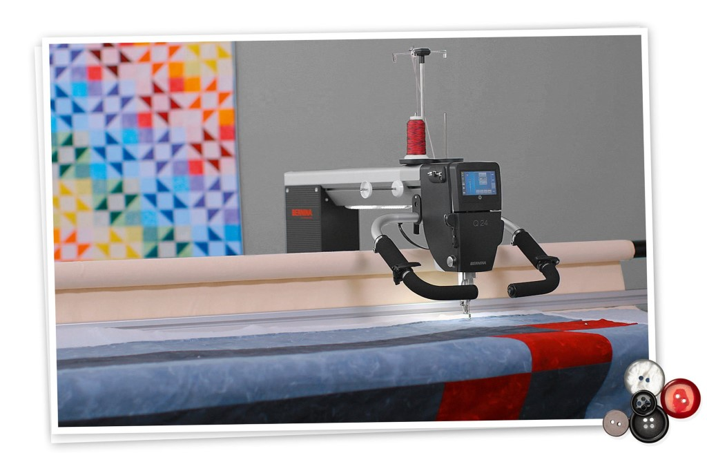 Bernina Q24 Longarm Quilting Machine At Lola Pink Fabrics