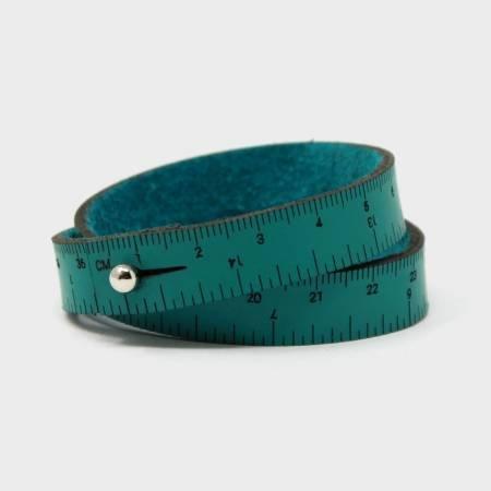 Wrist Ruler - 16  Teal