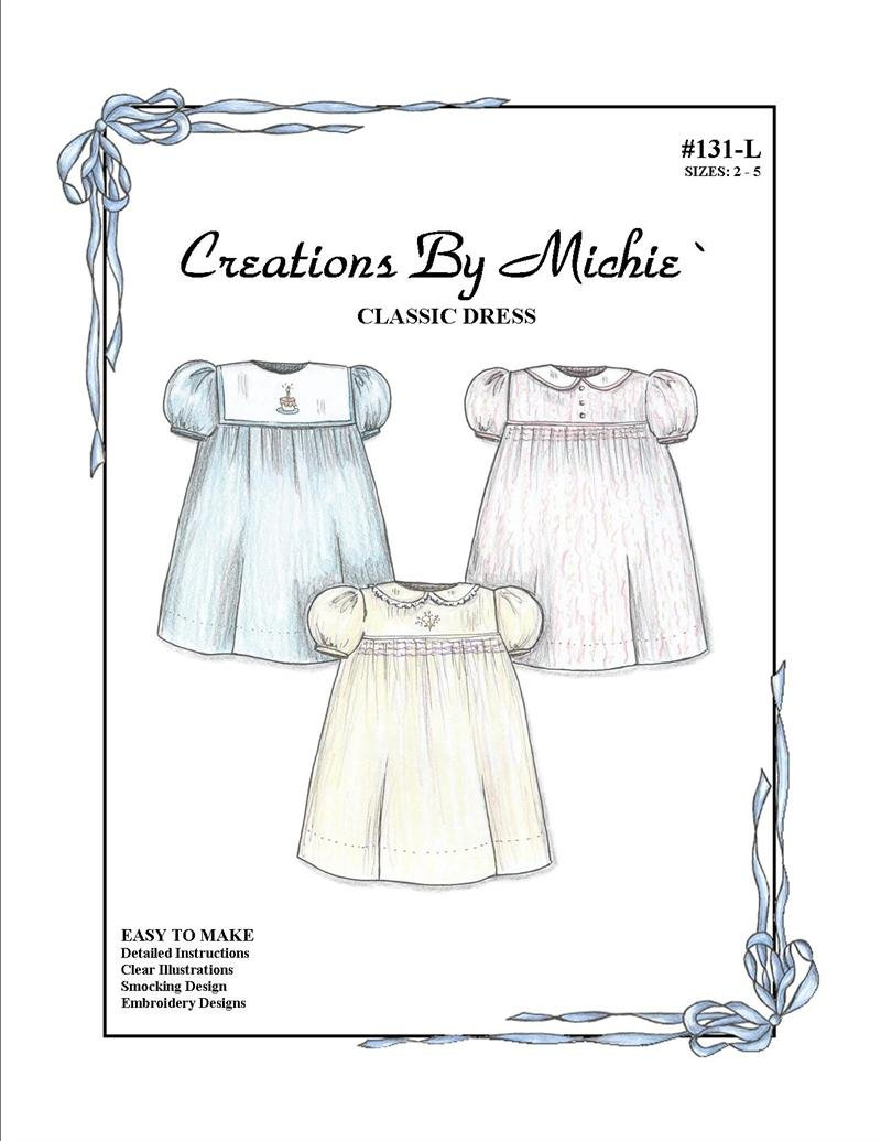 Creations by Michie - #131L Classic Dress