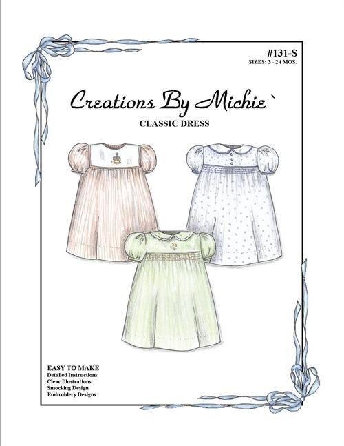 Creations by Michie - #131S Classic Dress