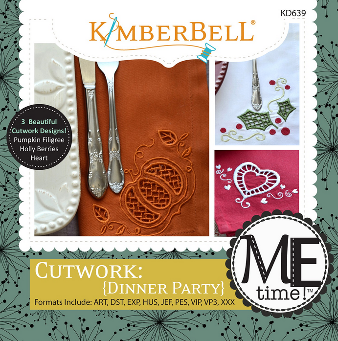 Kimberbell - Cutwork Dinner Party