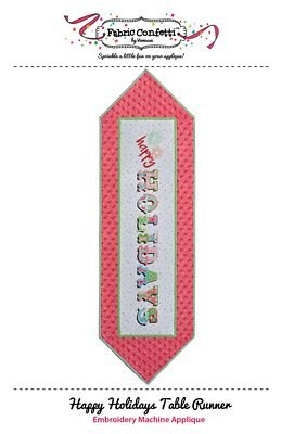 Fabric Confetti - Happy Holidays