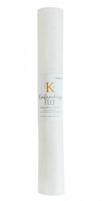 Kimberbell - Embroidery Felt - Antique White