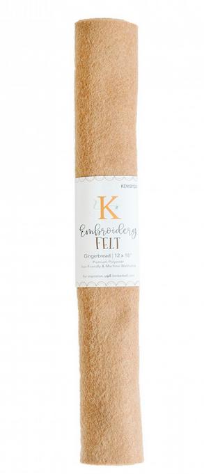 Kimberbell - Embroidery Felt - Gingerbread