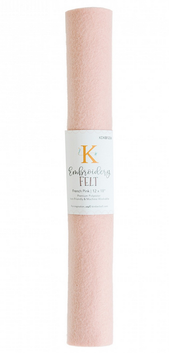 Kimberbell - Embroidery Felt - French Pink
