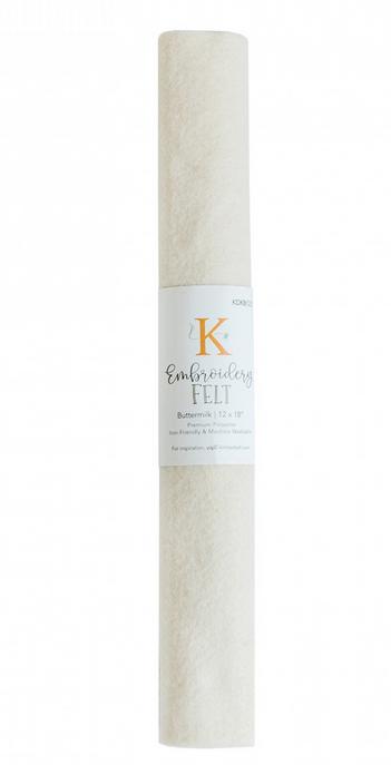 Kimberbell - Embroidery Felt - Buttermilk