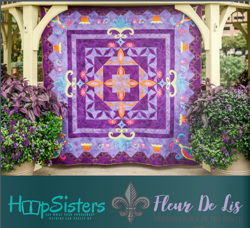 HoopSisters - EmbroidaBlock of the Month 2019 Early Bird Pricing