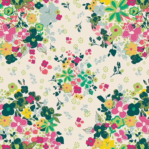 AG Print - Femme Metale Floralia