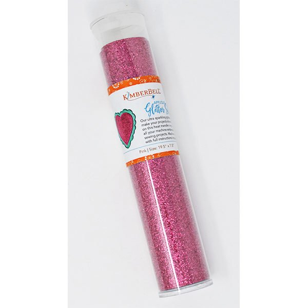 Kimberbell Applique Glitter Sheet - Pink