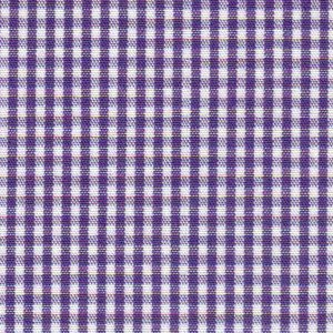 FF Gingham - Grape 1/16