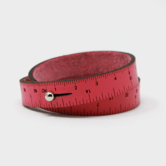 Wrist Ruler - Hot Pink