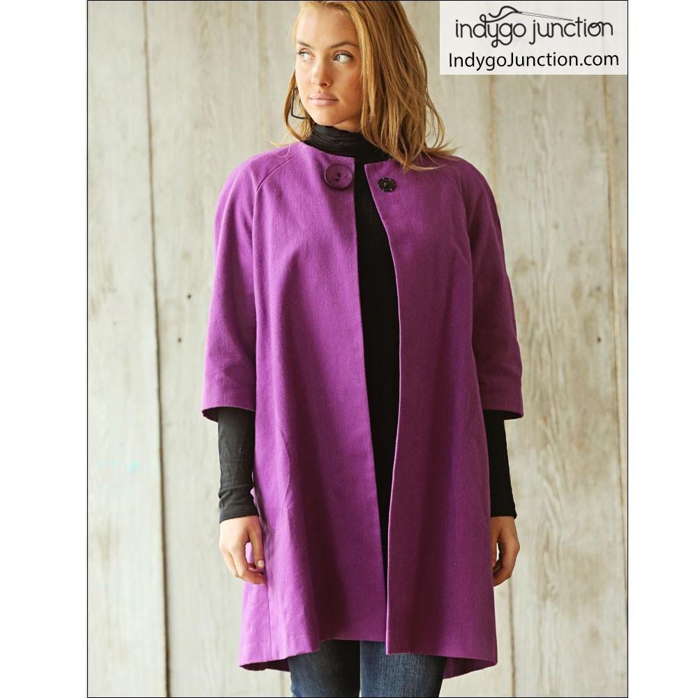 Indygo Junction - Sophia Swing Coat