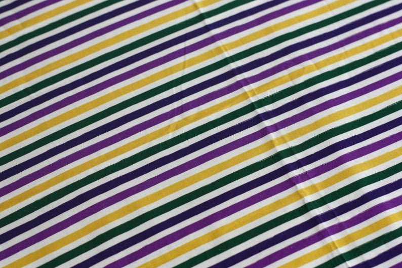 Ellie Gaytor - Mardi Gras Painter's Stripes