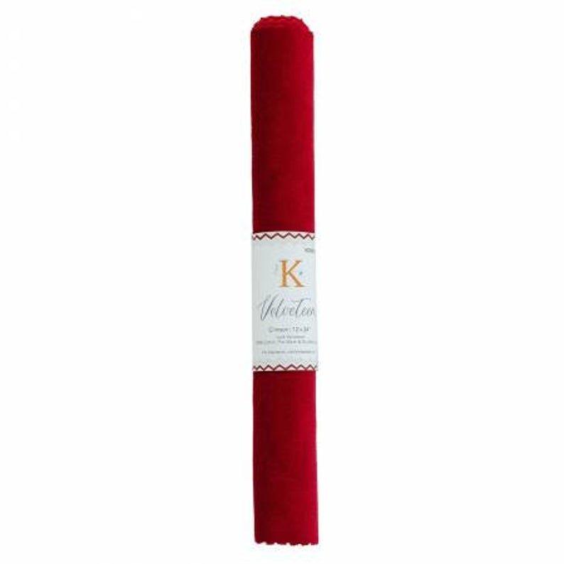 Kimberbell - Velveteen Crimson
