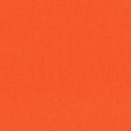 Kona Solid - Carrot