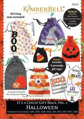 Kimberbell - It's a Cinch! Gift Bags Vol. 1 Halloween