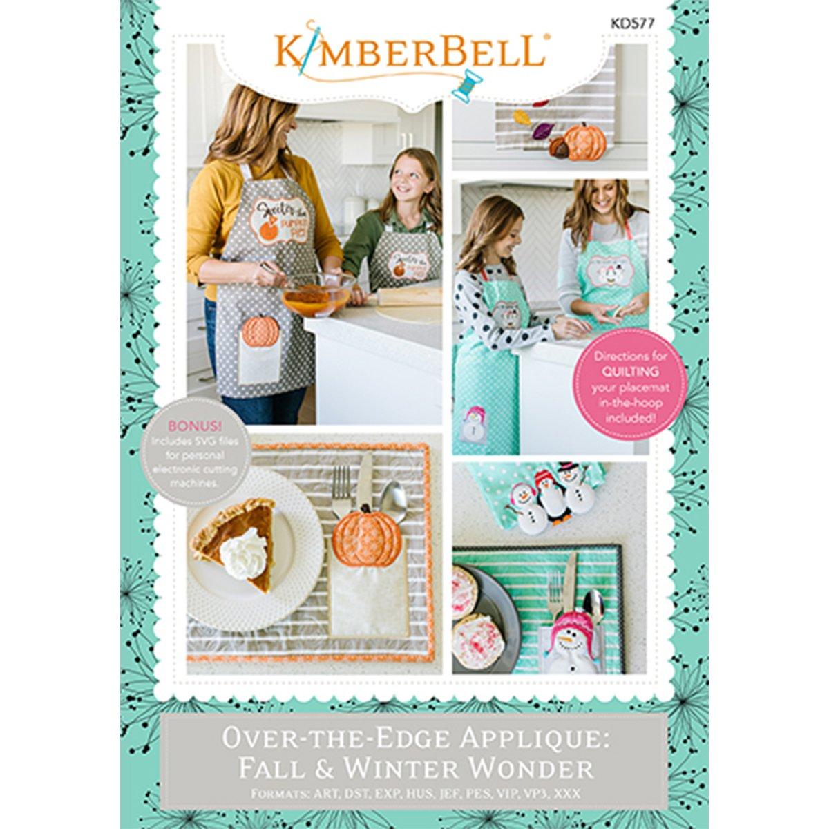 Kimberbell - Over-the-Edge Applique: Fall-Winter Wonder ME