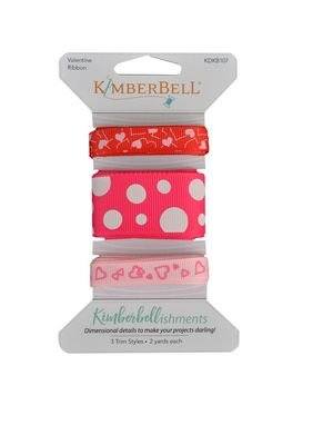 KimberBellishments - Ribbons Valentine's Day