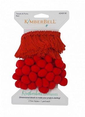Kimberbell - Tassels & Poms Red