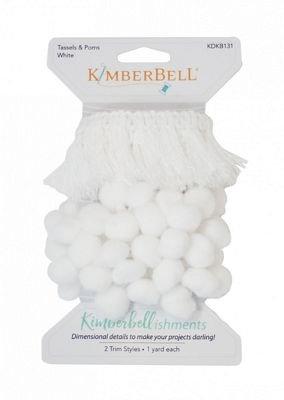 Kimberbell - Tassels & Poms White