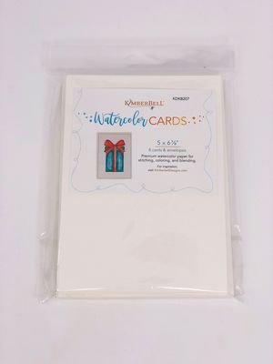 Kimberbell - Watercolor Cards - Large