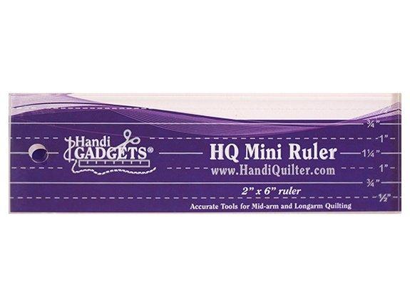 HQ Ruler - 2 x 6 Mini