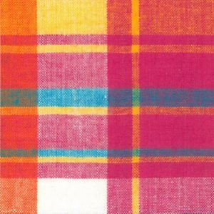 FF Madras Plaid - Pink Yellow Orange