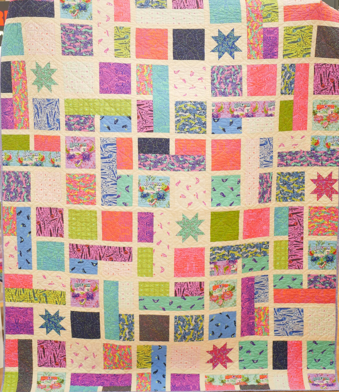 Quilt Kit - Tula Pink Homemade