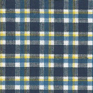 FF Plaid - Navy/Yellow