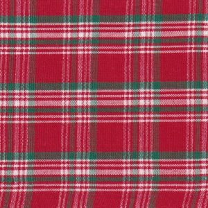 FF Plaid - Red, White and Green  (small)