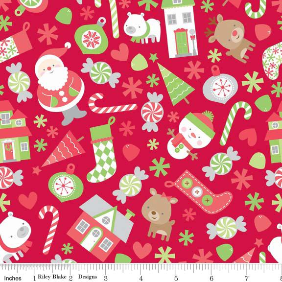 Holiday Knits - Main Red
