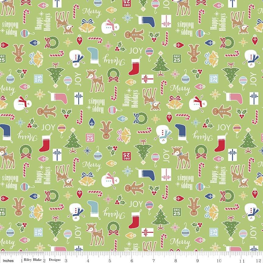Holiday Knits - Cozy Main Green