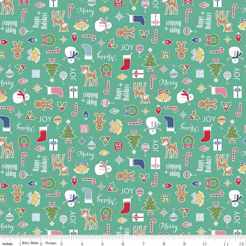 Holiday Knits - Cozy Main Teal