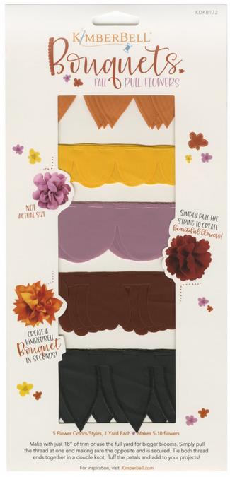 Kimberbell - Bouquets: Fall Pull Flowers xx