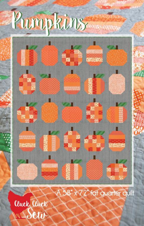 Cluck Cluck Sew - Pumpkins
