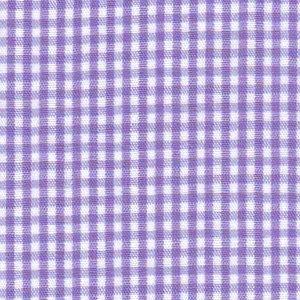 FF Gingham - Purple 1/16