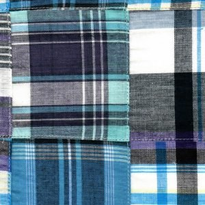 FF Patchwork - Purple Turquoise and Black