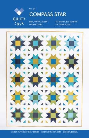 Quilty Love - Compass Star