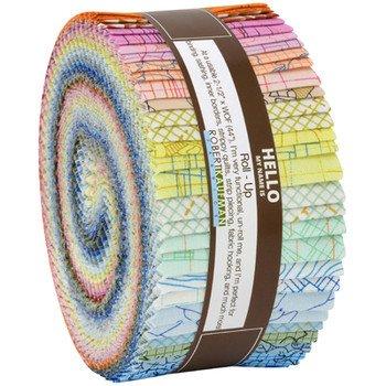RK Roll-ups - Carolyn Friedlander Colorful Colorstory