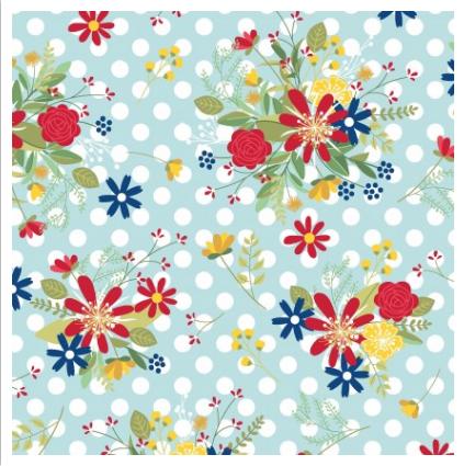 Kimberbell - Polka Dot Flower