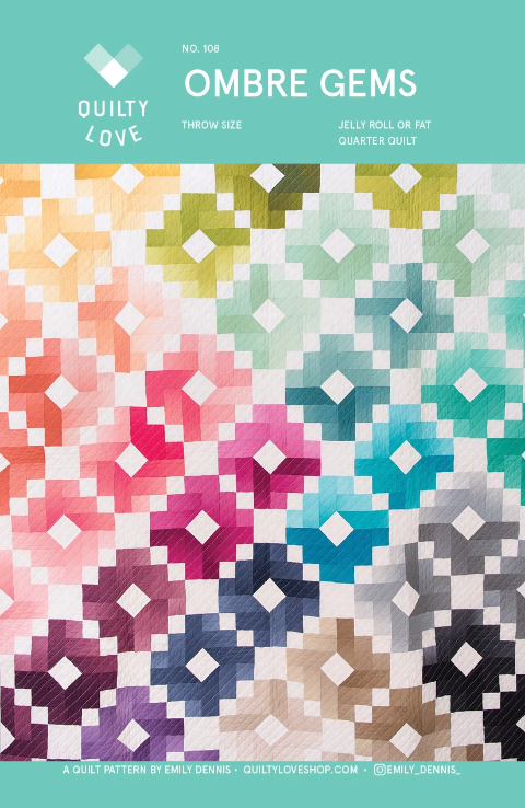 Quilty Love - Ombre Gems