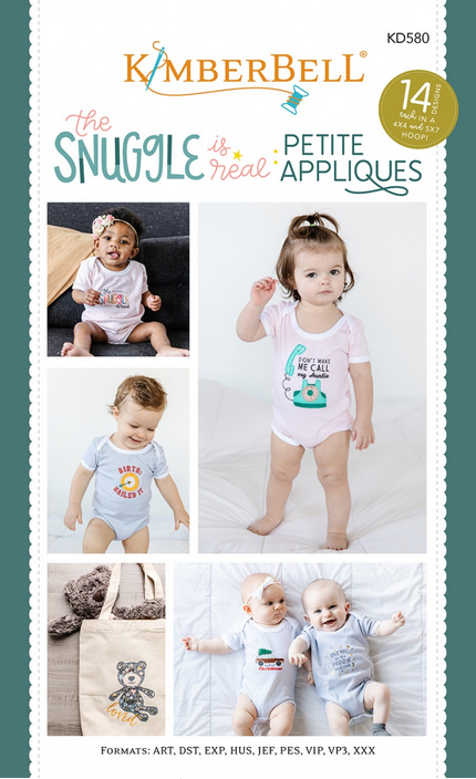 Kimberbell - The Snuggle is Real: Petite Appliques xx