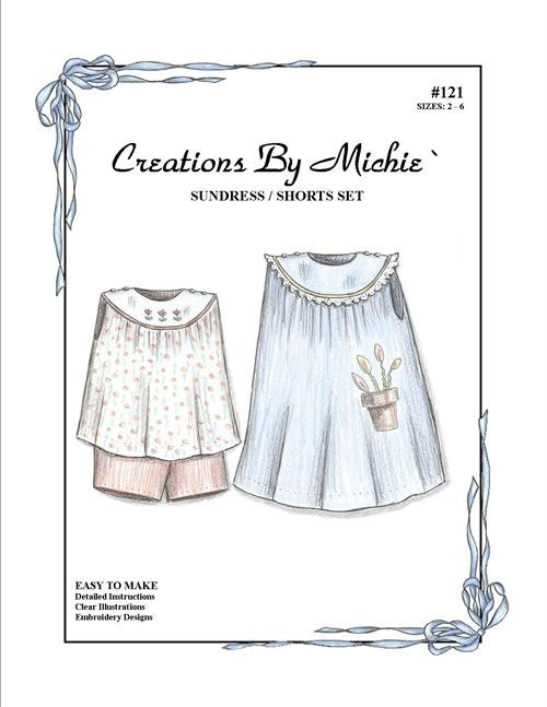 Creations by Michie - #121 Sundress/Shorts Set