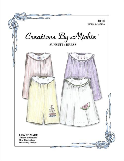 Creations by Michie - #120 Sunsuit/Dress