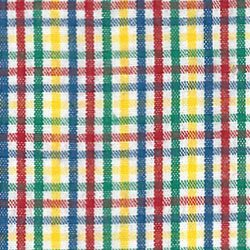 FF Plaid -  Yellow Red Blue and Green